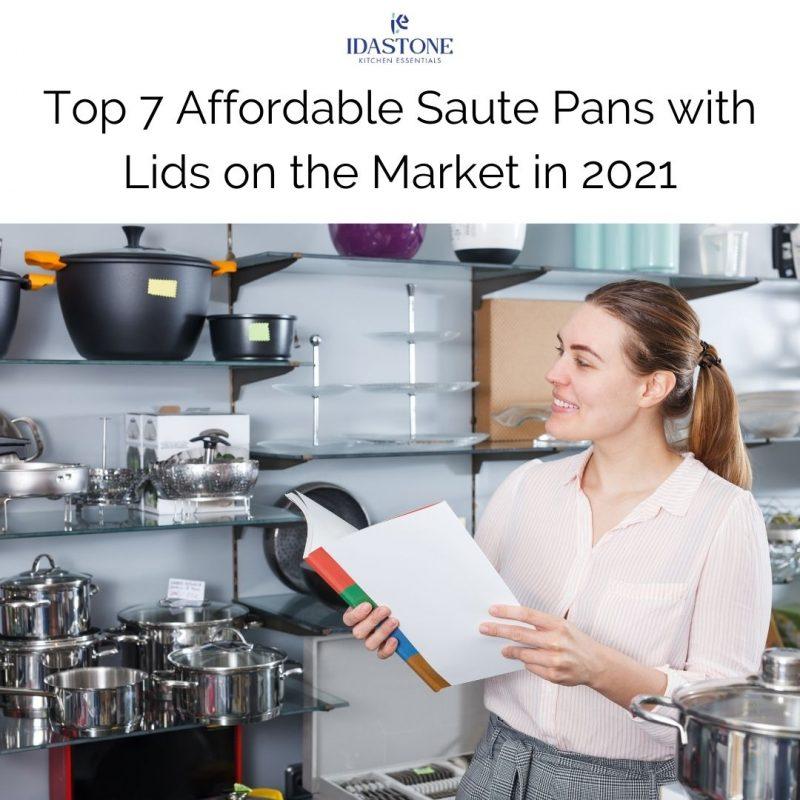 Saute Pans with Lids